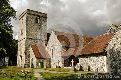 Church of St Mary, King s Worthy, Hampshire