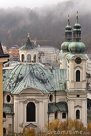 Church of St Mary Magdalene in Karlovy Vary