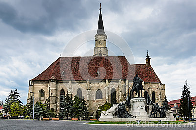 Church of St Michael, Cluj Napoca in Romania
