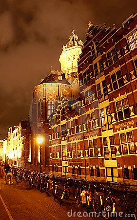 The Church of St. Nicholas in Amsterdam