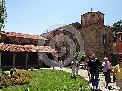 Church of St. Sophia, Ohrid, Macedonia Editorial Photo