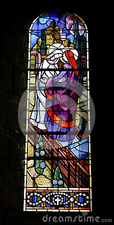 Church stained window