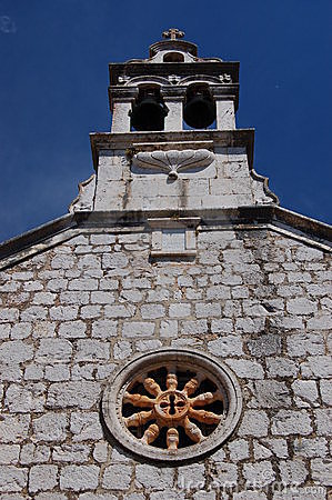 Church in Starigrad on Hvar island