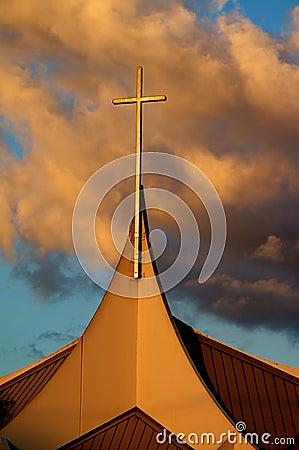 Church Steeple Cross
