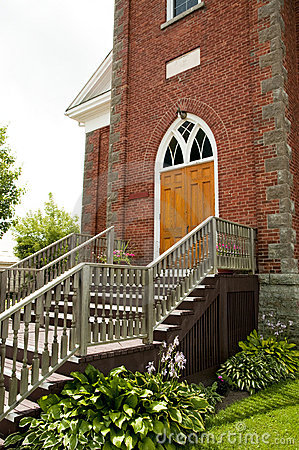 Free Church Steps Royalty Free Stock Photography - 15298587