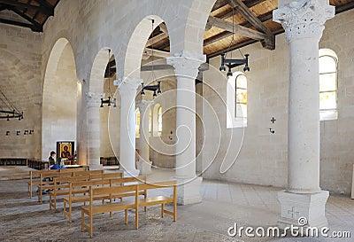 Church Tabgha, interior