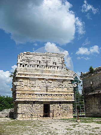 The Church Temple Chichen Itza Mexico