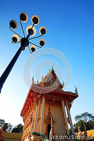 Church of Thai temple
