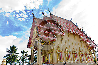 Church of Thai temple in  Thailand