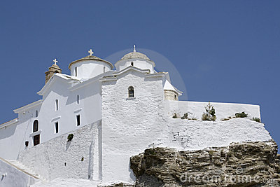 Church On Top Of Hill, Skopolos Stock Photos - Image: 8292383