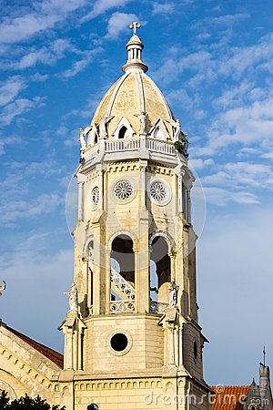 Free Church Tower Royalty Free Stock Images - 41109159