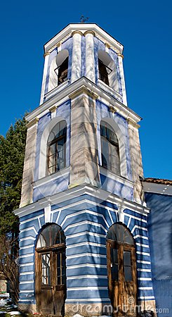 Church tower in Bulgaria