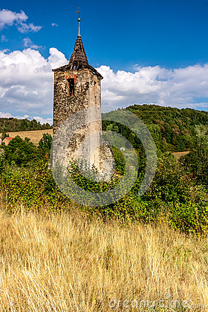 Church tower Stock Photo