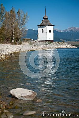 Church Tower near Liptovska Mara, Slovakia