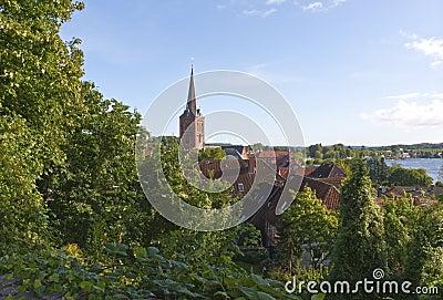Church Tower at Plön