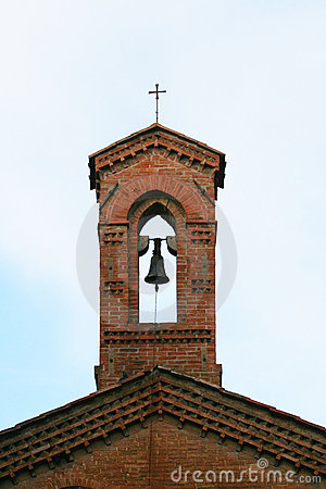 Free Church Tower With Bell And Cross Stock Photo - 13364180