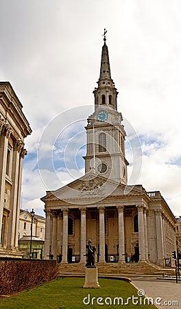 Church on trafalgar square
