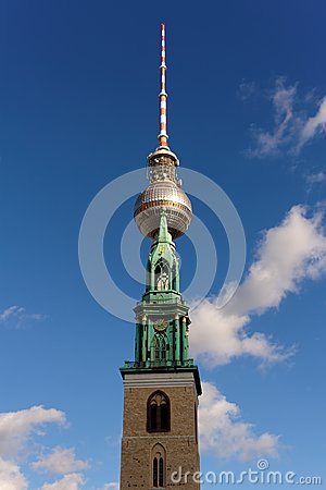 Church and TV Tower