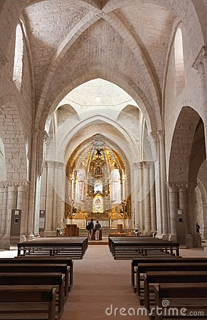 Church of Valbuena in Valladolid