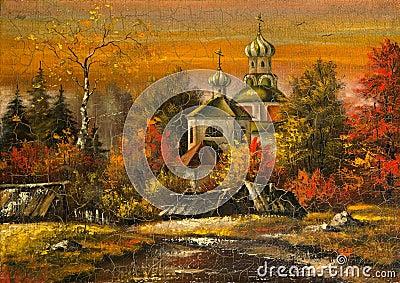 Church in village