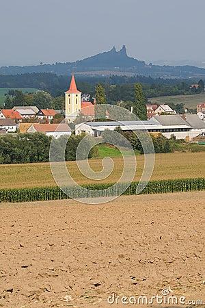 Church in a village no.1