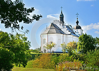 Church in village Subbotiv, Ukraine