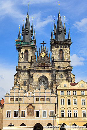 Church of Virgin Maria Before Tyn, Prague