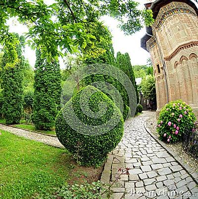 Church walkway