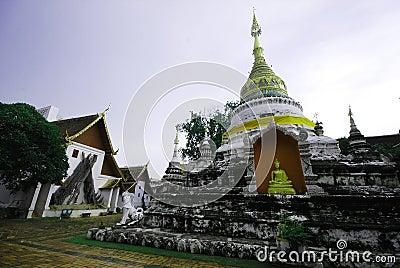 Church wat Thai Lanna