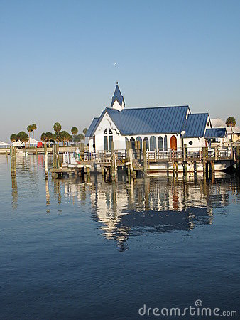 Church on water in Florida