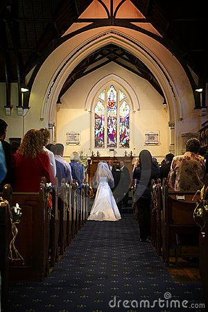 Free Church Wedding I Royalty Free Stock Images - 652159
