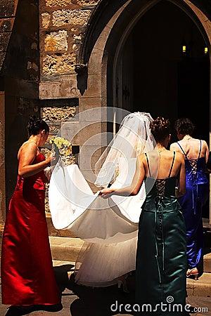 Free Church Wedding III Stock Images - 652234