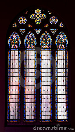 Free Church Window Royalty Free Stock Photo - 3847015