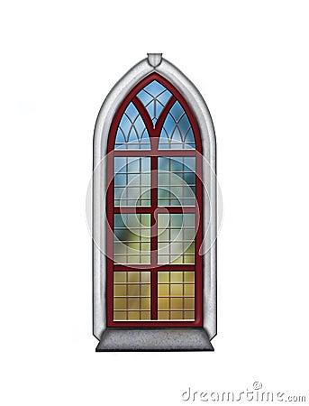 Free Church Window Royalty Free Stock Photography - 43783447
