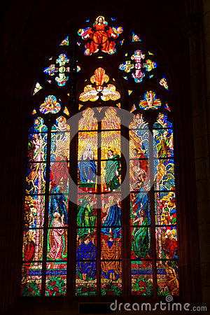 Free Church Window Stock Photography - 44024552