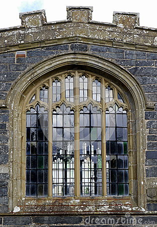 Free Church Window Stock Image - 70123151