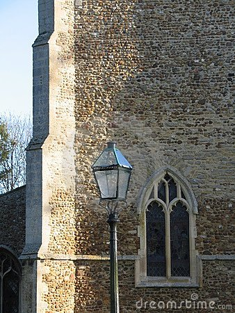 Church window, Cambridgeshire