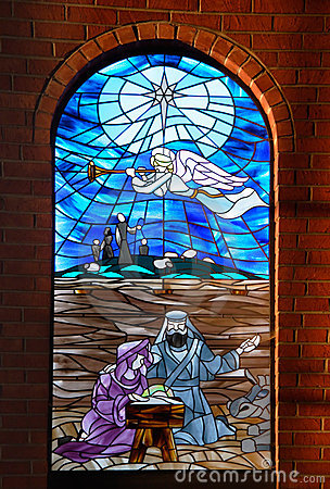 Free Church Window Pane 2 Royalty Free Stock Images - 77899