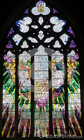 Free Church Window Saint David S Cathedral Hobart, Tasmania Royalty Free Stock Photography - 48626767