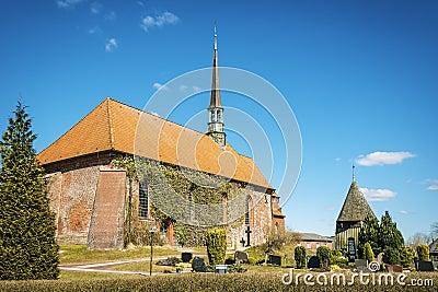 Church of Witzwort, Germany