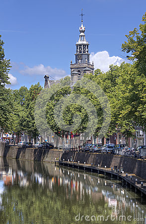 Free Churchtower Of Gouda, Holland Stock Photography - 32796022