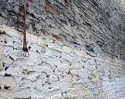 ściana grungy