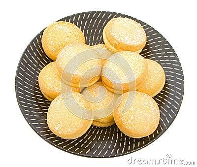 Ciastek shortbread jo-jo