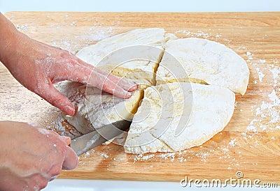 Ciasto robi pizzy