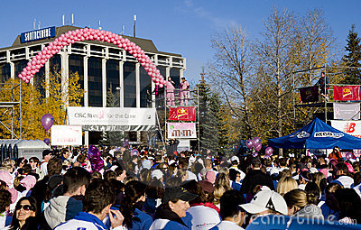 CIBC Run for the Cure Editorial Image