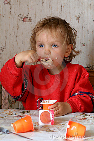 Cibo del yogurt
