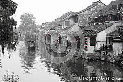 Cidade aquosa antiga
