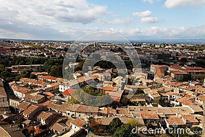 Cidade baixa de Carcassonne-
