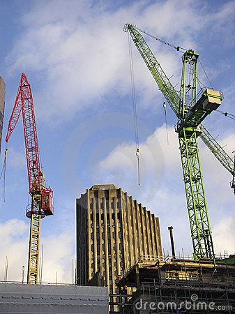 Cidade da construção de Londres