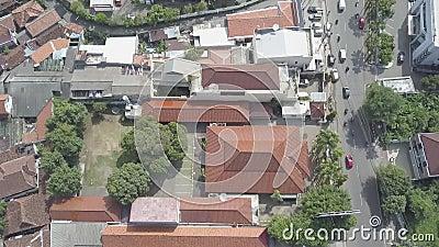 A cidade de Pekalongan video estoque